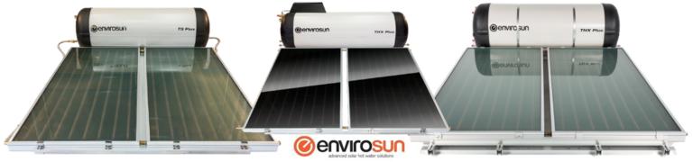 Envirosun TS Plus Solar hot water system range