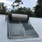 Planet home Toowoomba ENvirosun solar hot water installation