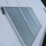 Envirosun 400 litre split solar hot water system plonk on